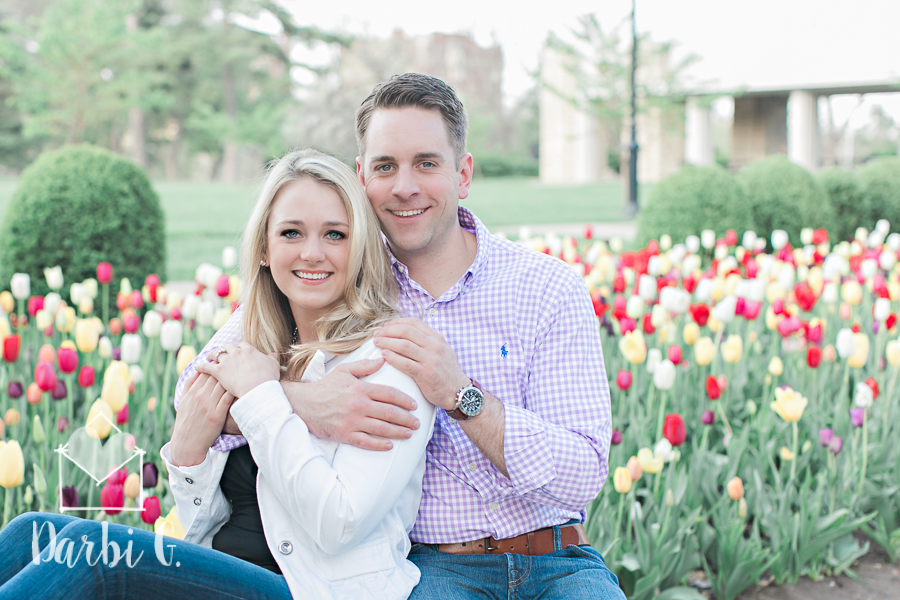 Kansas City wedding photographer Loose Park Missouir